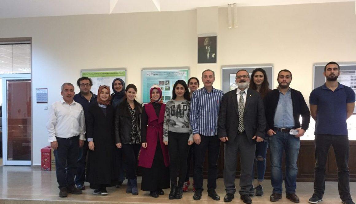 İstanbul Ticaret Üniversitesi'nden ziyaret