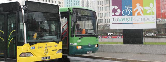 İETT'nin çevreci otobüsleri