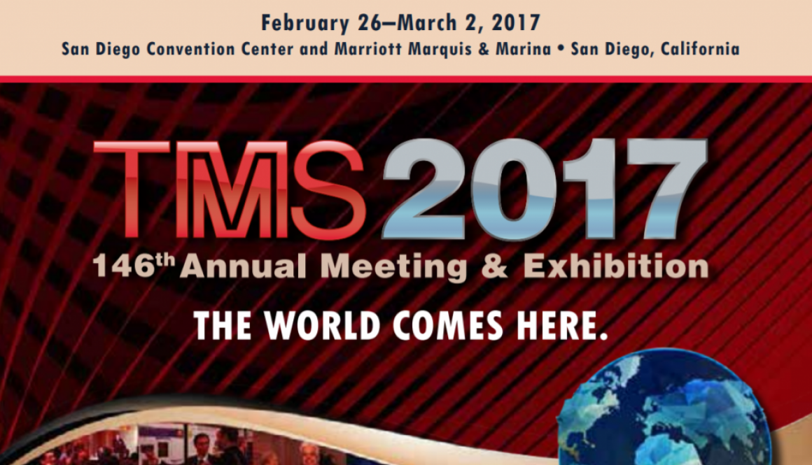 TMS 2017 Annual Meeting & Exhibition