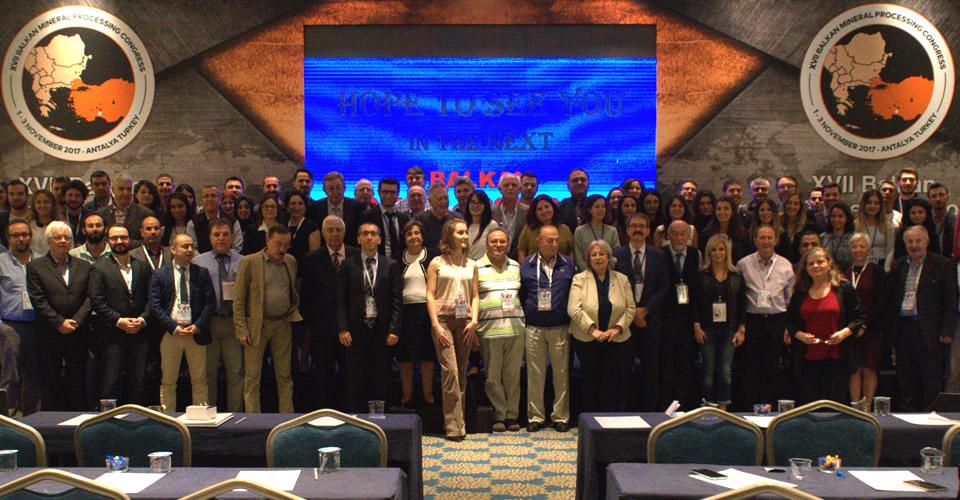 XVII. Balkan Mineral Processing Congress katılımı